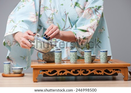 concepts of tea ceremony The spiritual concepts connected with the tea ceremony, in old japan, were  succinctly expressed in the words, wa, kei, sei and jaku, which are  defined as.