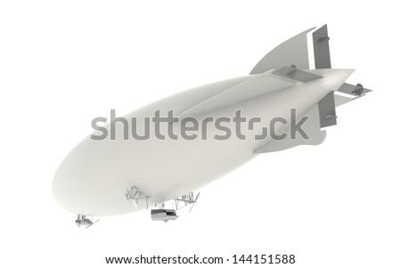 Zeppelin Airship - stock photo