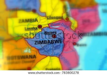 Zimbabwe Republic Stock Images RoyaltyFree Images Vectors - Republic of zimbabwe map