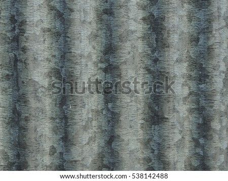 zinc background.