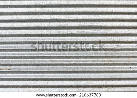 zinc industries plate orange rust - stock photo