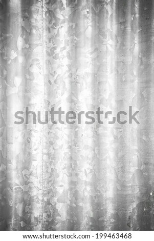 Zinc plate background