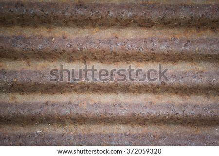 zinc rust backgrounds and texture, old rusty.  - stock photo