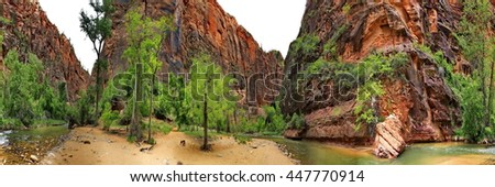 Zion - stock photo