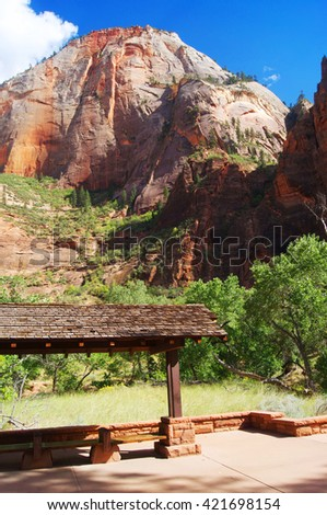 Zion National Park | Canyon | USA - stock photo