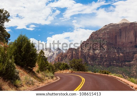 Zion Park in Utah, USA