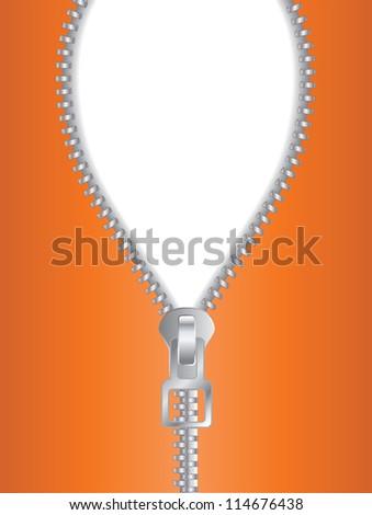 Zip it - stock photo