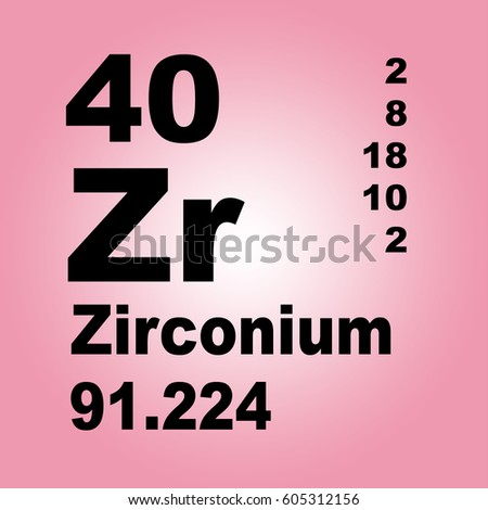 zirconium periodic table of elements - Periodic Table Zr