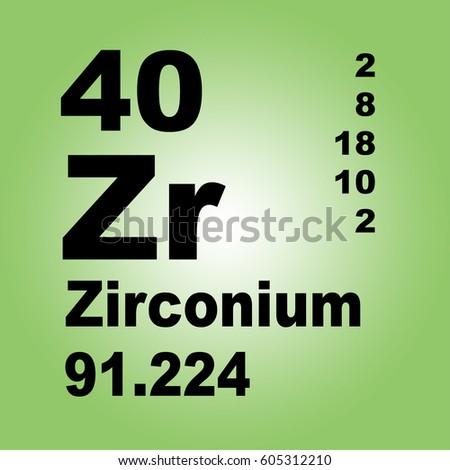 Zirconium periodic table elements stock illustration 605312216 zirconium periodic table of elements urtaz Gallery