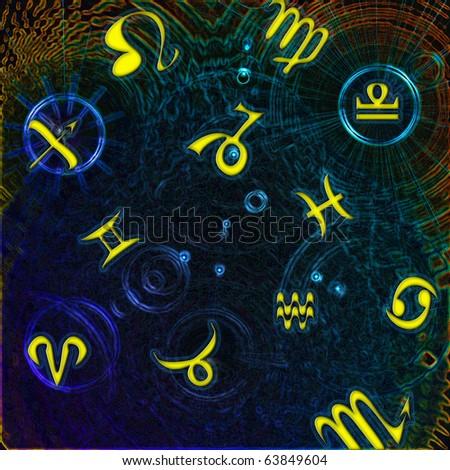 zodiac - stock photo
