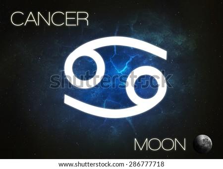 Zodiac sign - Cancer - stock photo