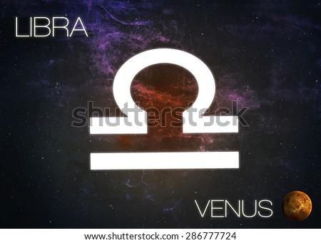 Zodiac sign - Libra - stock photo