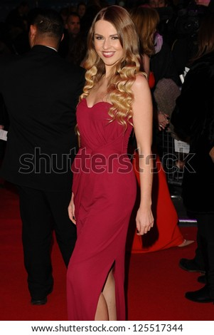 Zoe Salmon arriving for the UK premiere of 'Flight' at Empire Leicester Square, London. 17/01/2013 Picture by: Steve Vas