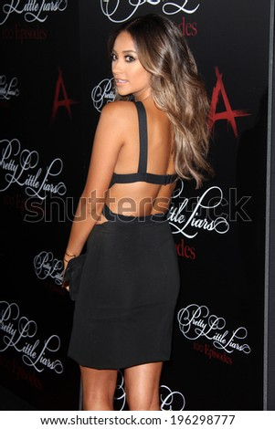 "Zoey DeutchLOS ANGELES - MAY 31:  Shay Mitchell at the ""Pretty Little Liars"" 100th Episode Celebration, at W Hollywood on May 31, 2014 in Los Angeles, CA"