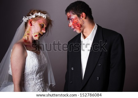 Zombie Bride And Groom Full