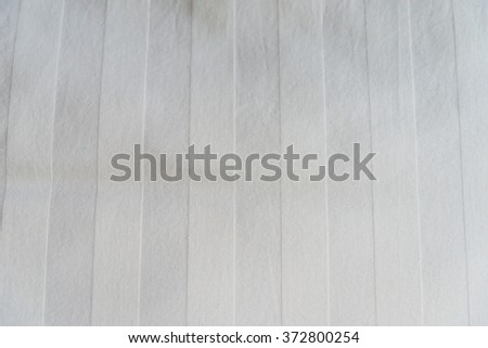 Zoom shot of White Bed linen for background. - stock photo