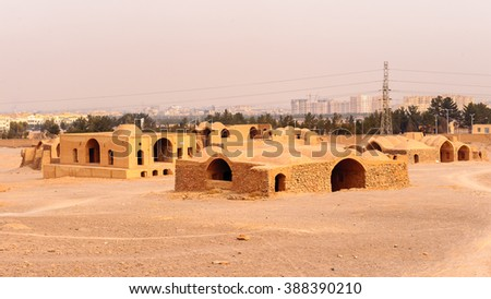 Zoroastrian Towers of Silence, Yazd, Iran
