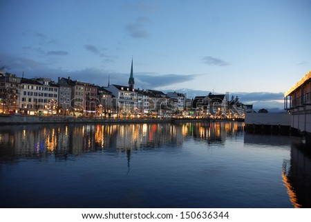 Zurich - stock photo