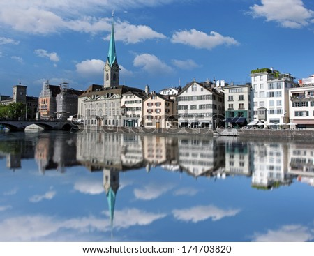 Zurich - Switzerland - stock photo