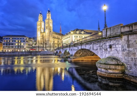 Zurich, Switzerland - stock photo