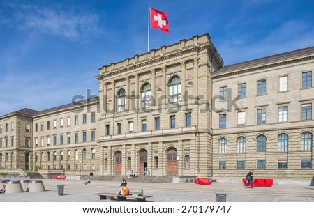 Eth stock images royalty free images vectors shutterstock zurich switzerland 12 april 2015 swiss federal institute of technology german toneelgroepblik Image collections