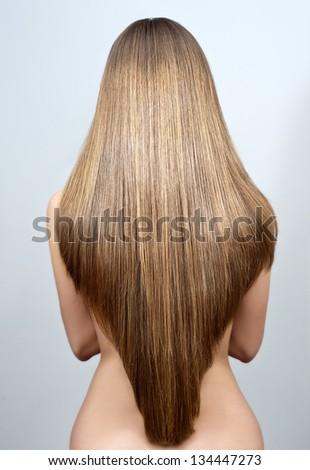 Beautiful Long Hair Woman Stock Pto 14 - Shutterstock