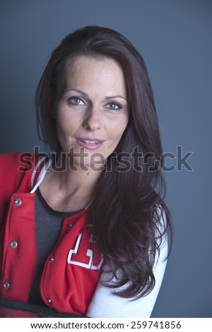 Mature Dark Haired Woman Smiling Stock Pto 14 - Shutterstock