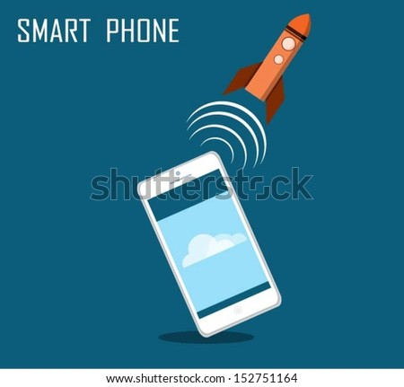 A symbol of high-speed and technology. - stock vector