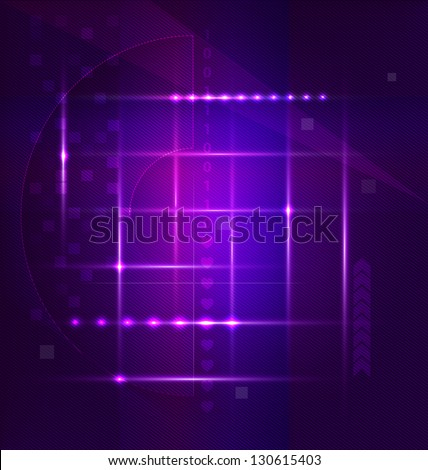 Abstract art vector backgrounds with various creative elements
