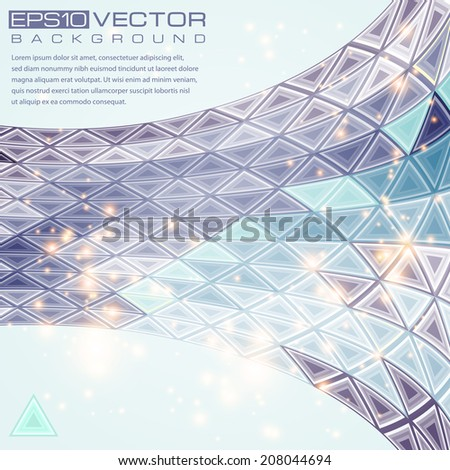 Abstract geometric background.Vector illustration.