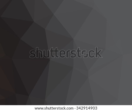 abstract geometric background with triangular polygons (low poly)