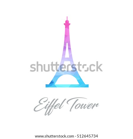 Eiffel Tower Logo Stock Images Royalty Free Images