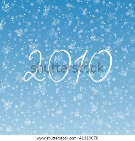 2010 background - stock vector