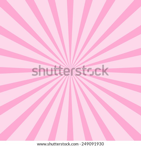 background pink ray Vector EPS 10 illustration. - stock vector