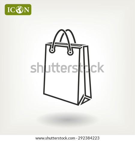 bag icon. Vector  Eps 10