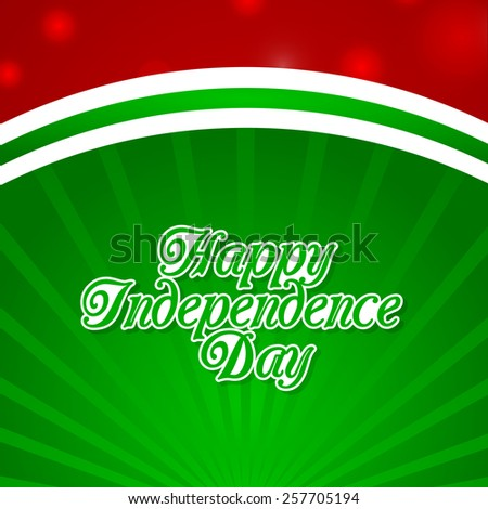 Beautiful Abstract for Bangladesh Independence Day on gradient strips background - stock vector