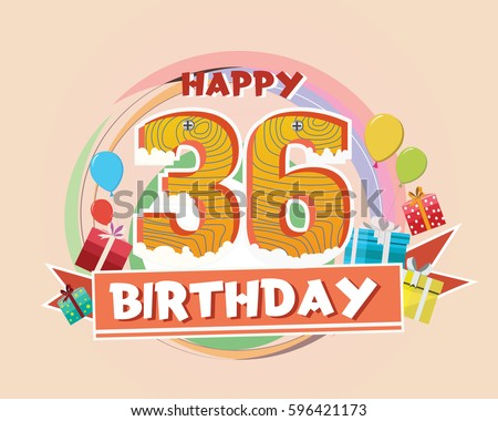 Happy birthday lit candles on colorful balloons royalty free stock - 36 Birthday Stock Images Royalty Free Images Amp Vectors