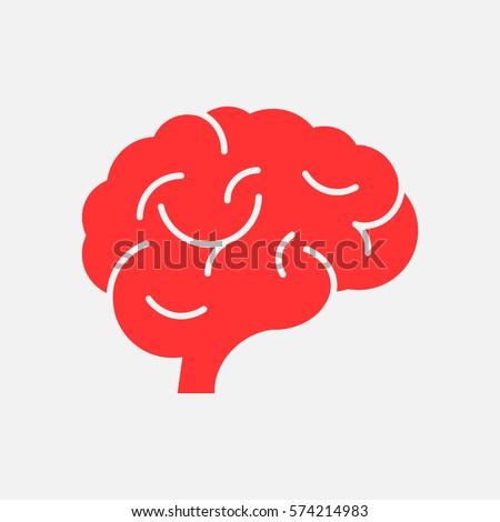 flat brain icon - photo #21