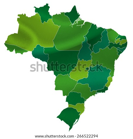 Brazil map countries