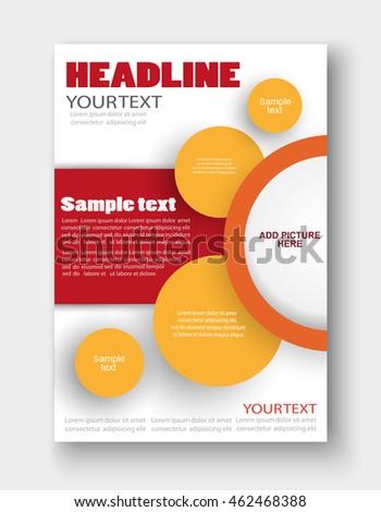 Vector Tri Fold Brochure Design Corporate Stock Vector 255067636 ...