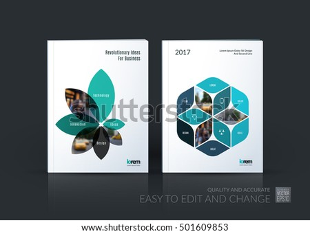 Brochure Template Layout Collection Cover Design Stock Vector ...