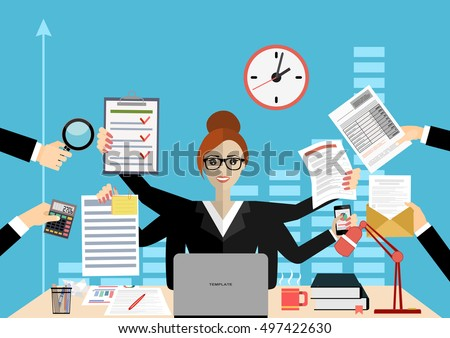 Multitasking Stock Images, Royalty-Free Images & Vectors ...