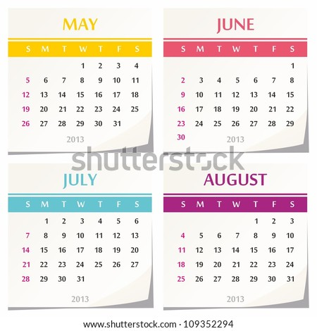 Month Of June Stock Images, Royalty-Free Images & Vectors ...