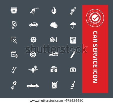 Car service and repair icon,vector
