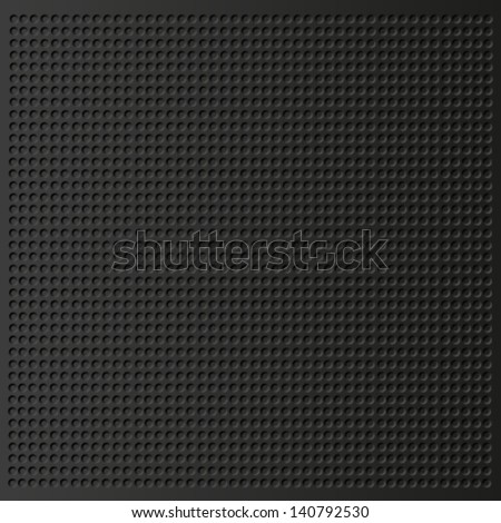 carbon metallic seamless pattern design - stock vector