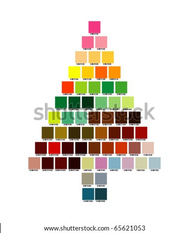 """christmas tree"" - stock vector"