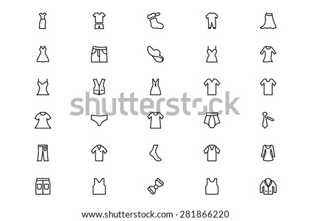 Clothes Line 2  - stock vector