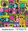 Colorful Modern and Abstract pattern. - stock vector