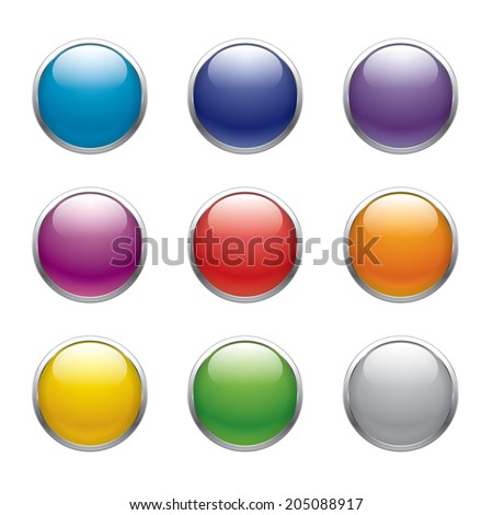 9 colors button