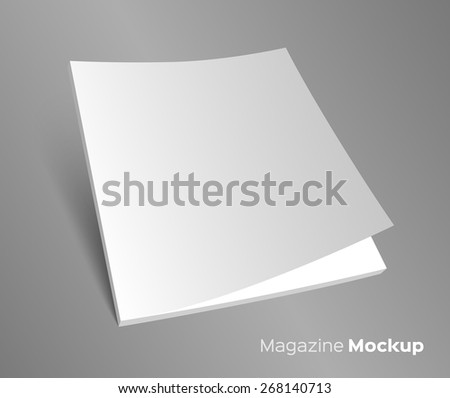 Blank Brochure Cover Stock Photos, Royalty-Free Images & Vectors ...